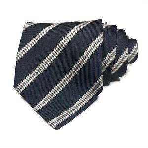 Armani Collezioni Stripe Repp Vintage Tie